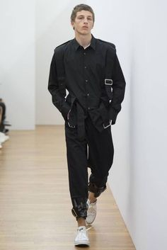 Comme des Garcons Homme Shirt Spring-Summer 2017 - Paris Fashion Week #PFW