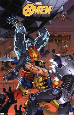 X-Men First Class Wolverine & Colossus Poster