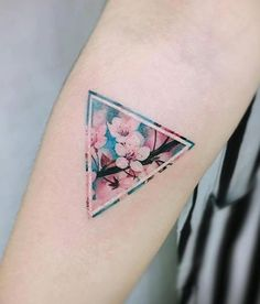 Cherry Blossom Tattoo by Tattooist Wonseok