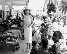 Audrey, Congo Belga 1958