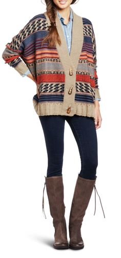 827ee3cd1d4f3 158 Best Tribal Sweaters images in 2013   Tribal sweater, Fall looks ...