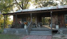 Here is a lovely example of an oldDog Trot House!    The Ruston Daily Leader    As you can see, it is basically two separate structures l...