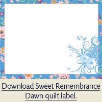 Free colorful quilt