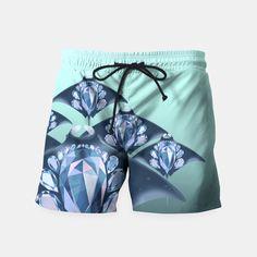 Manta Ray Swim Shorts by Diloranium 29.95€