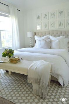 Beautiful bedroom.
