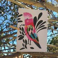 "50 Likes, 2 Comments - Earth Greetings (@earthgreetings) on Instagram: ""The gorgeous Galah card by @inaluxe is almost sold out on our webstoreSo if you want your mitts on…"""
