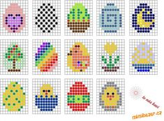Perler Bead Designs, Perler Bead Templates, Diy Perler Beads, Bunny Crafts, Easter Crafts, Crafts For Kids, Hama Beads Patterns, Beading Patterns, Loom Patterns