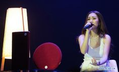 Singer Kay Tse performs solo concert in Taipei, Taiwan, March 22, 2014