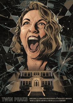 Twin Peaks: Part 18 poster by Cristiano Siqueira