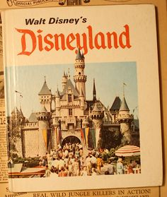 1969 Disneyland guidebook by Marty Sklar -- I have my mom's copy where she wrote the date of her visit -- May 25, 1969.