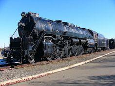 Reading Railroad 4-8-4 Steam Locomotive at Steamtown.