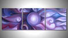 ORIGINAL absract painting art deco Modern Acrylic by SHAHARART, $120.00