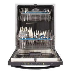 GE GGDT550HGDWW Hybrid Built-In Dishwasher - White at Ferguson.com
