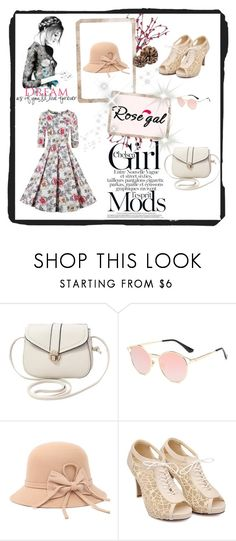"""Summer outfitt"" by nermina-okanovic ❤ liked on Polyvore featuring vintage"