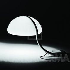Martinelli Luce Serpente lampe de table