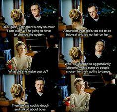 Giles talks about babysitting Dawn.