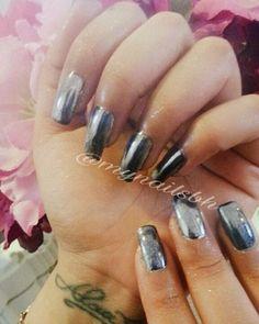 Chrome nail extensions done at My Nails Beauty salon and SPA 😍 . .#mynails #beautysalon #spa #nails #nailextensions #artificialnails #chromenails #chromenailsbahrain #chromepowder #bahrainsalons #nailsalons #nailspa #bahrain #بنات #منكير #تركيب_اظافر #اظافر_مؤقته #صبغ_اظافر #اظافر_كروم #بودرة_كروم #اظافر_كروم_البحرين #صالونات_البحرين #صالونات_الأظافر #سبا_البحرين