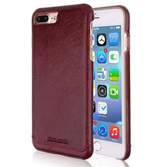 Pierre Cardin iPhone 7 Plus Leather Case Protective Slim Fit Snap On Hard Back Cover for iPhone 7 Plus Red -- Awesome products selected by Anna Churchill
