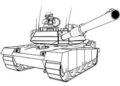 How to Draw Transport: How to Draw a Military Tank  Design Psdtuts