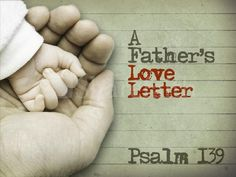 This powerpoint template for Father's Day will melt the heart of the toughest man. Seeing your baby's hand in your own is a memory that stays with a Father. This presentation also brings in Psalm 139 which speaks of God the Father forming each of us in our mother's womb. This is a perfect background for your Father's Day sermon. #Sharefaith