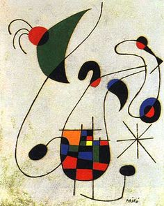 """Throughout the time in which I am working on a canvas I can feel how I am beginning to love it, with that love which is born of slow comprehension""(Joan Miró). Catalan/Spanish surrealist painter and sculptor (Barcelona 1893 - Mallorca 1983), His art was varied in style until he started focusing on the surreal due to the influences of his trips to Paris. In 1920, he met Pablo Picasso and then transfered his art circle between Barcelona and Paris."