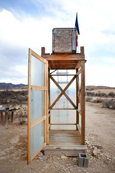 If I lived in the middle of the desert nowhere, I would take a solar shower and then solar-dry off too.