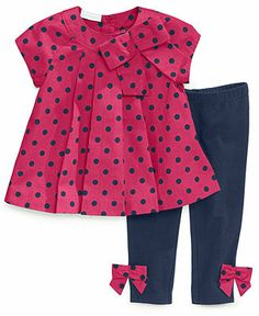 First Impressions Baby Girls' 2-Piece Tunic & Leggings - Kids Baby Girl (0-24 months) - Macy's
