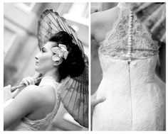 Gorgeous Modern Asia Inspired Bridal Shoot at the Blue Piano