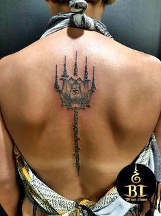Done traditional Thai sak yant tattoo by ajarn Tom(www.bt-tattoo.com) #bttattoo #bttattoothailand #bangkoktattoo #bangkoktattooshop #bangkoktattoostudio #thailandtattoo #thailandtattooshop #thailand #bangkok #tattoo #thaibamboo #thaibambootattoo #bambootattoo #bambootattoobangkok #sakyant #thaitattoo