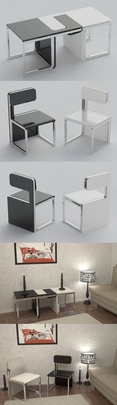 multi-functional chair perfect for small apartments