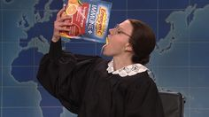 Kate McKinnon's Ruth Bader Ginsburg swears she's going to stay healthy on 'SNL'