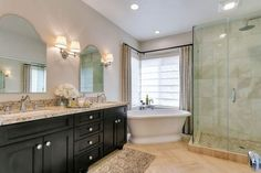 Image result for bathroom and shower with quartz