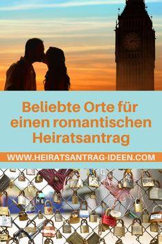 In diesem Artikel verrate ich dir Orte für einen romantischen Heiratsantrag. Den nicht nur romantische Worte und der klassische Kniefall mit einem funkelndem Verlobungsring in der Hand machen den Antrag unvergesslich schön…  … mit einem besonderen Ambiente bzw. einem speziellen Ort setzt du dem Ganzen noch die Krone auf.