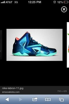 finest selection 5e054 ab557 Breezy. Lebron 11ColorguardCleatsGraphic ...