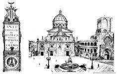 Pío XI otorga la coronación canónica a la Virgen de los Desamparados   Valencia 1922