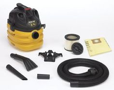 Shop-Vac(R) 5-Gallon Heavy Duty Portable Vac-by-SHOP-VAC Heavy duty power and features for the contractor or anyone that needs to clean up tough messes with a portable vac.. Easy to carry and full featured.. Tank Size: 5 Gallons.. Tank Size: 5 Gallons. Power: 5.5 Peak HP ..  #Shop-Vac #Automotive_Parts_and_Accessories