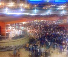 Concierto de Salsa en Megaplaza. El mall más grande del Perú.