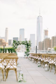 New York Rooftop Wedding, This Is Us, York, Table Decorations, Gallery, Home Decor, Homemade Home Decor, Roof Rack, Decoration Home