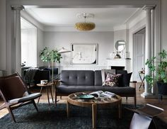 Stockholm apartment of stylist Joanna Laven