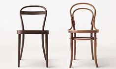 Thonet No. 14 with Muji No. 14