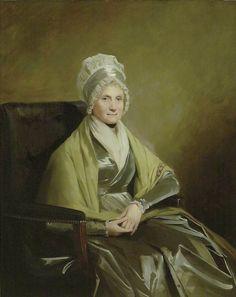 Portrait of Mrs John Brown of Lanfine and Waterhaughs, 1798-99 by Sir Henry Raeburn (Scottish 1756-1823)