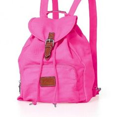 Victoria's secret pink backpack Pink drawstring backpack Victoria's Secret Bags Backpacks