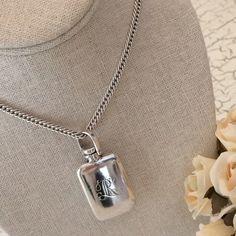 Ralph Lauren Jewelry - Vintage Ralph Lauren Sterling Perfume Necklace