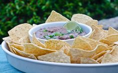 Black bean dip- heal