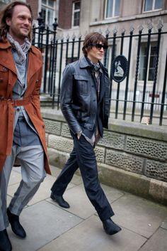 They Are Wearing: London Fashion Week Fall 2016 Photos For Loco, Fashion News, Mens Fashion, Autumn Street Style, Fall 2016, London Fashion, Punk, Coat, Loco Dice