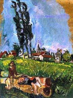 Children Playing at Chimpigny Chaim Soutine - circa 1942-1943