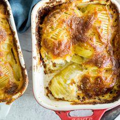 Französisches Kartoffelgratin