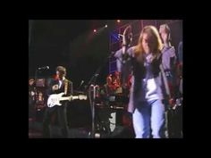 "Bruce Springsteen -  This is awesome, Bruce and Axl together perform ""Come Together""  One of my Favorite Lennon songs.  .  .  .  .  .  .  .  .  thesamiposts"