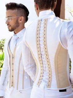 Nigerian Men Fashion, Indian Men Fashion, Mens Fashion Wear, Suit Fashion, Style Fashion, Latex Fashion, Gothic Fashion, Fashion Outfits, Fashion Weeks