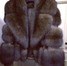 Sable fur and snakeskin jacket. :: Russian Siberian Sable fur #anandco #furfashion #furonline
